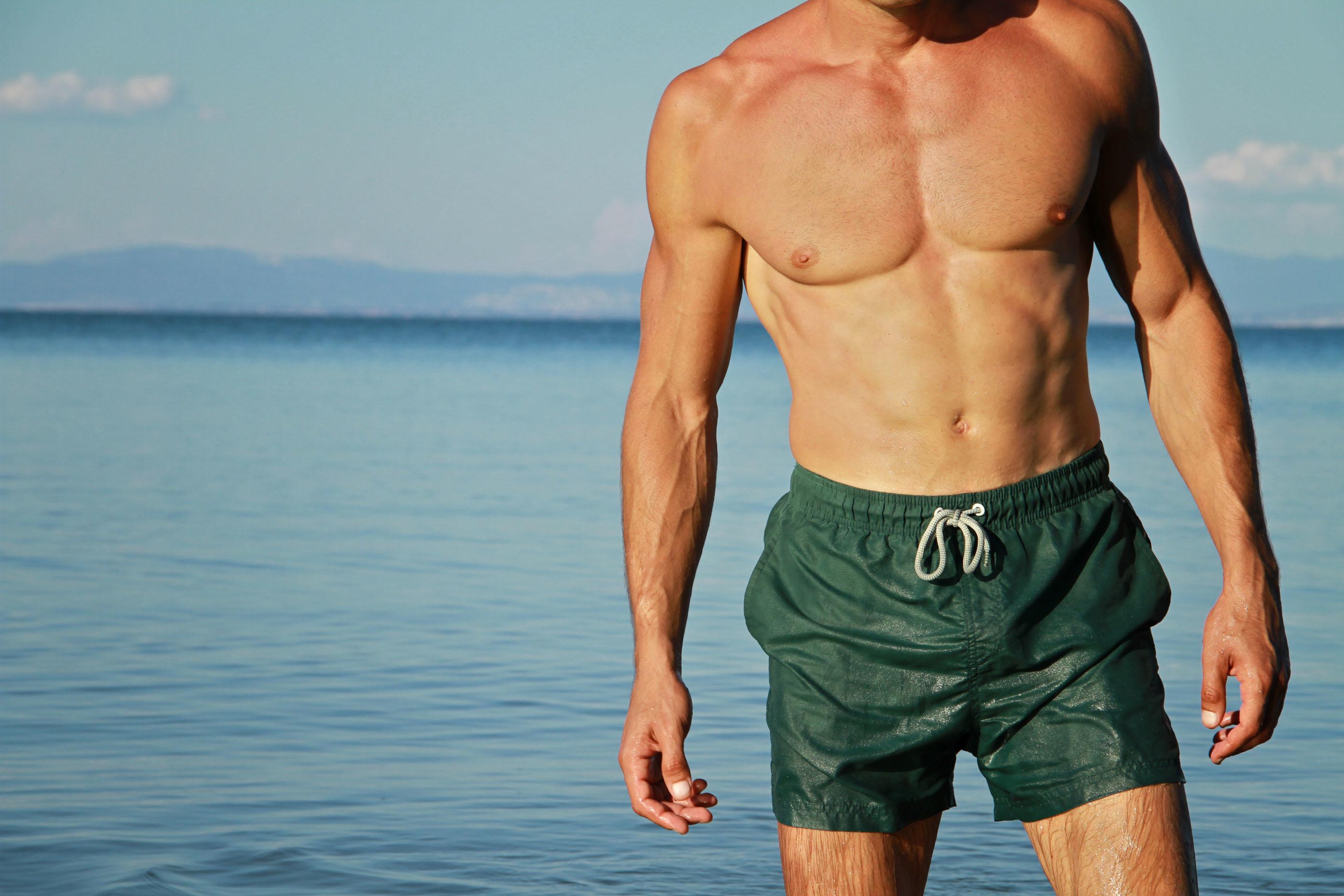 Consider, that male pubic hair beach
