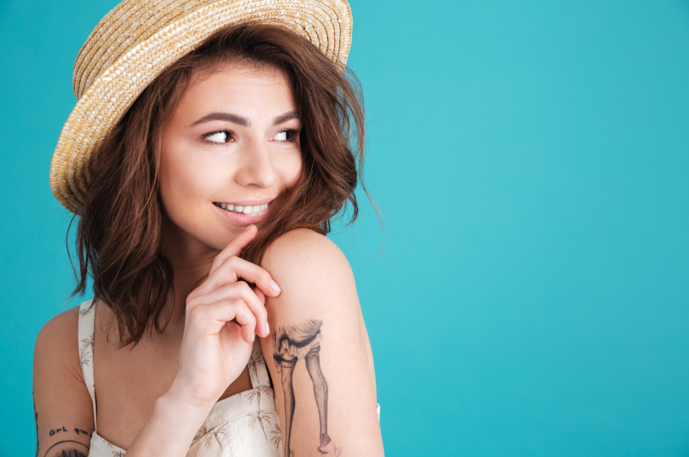 Laser Hair Removal over a Tattoo | IGBeauty | Toronto